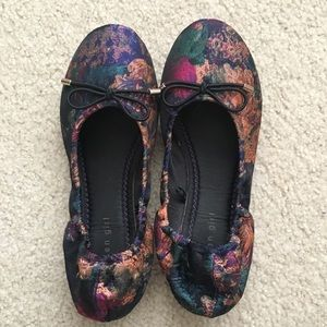 Madden Girl Jewel Tapestry Scrunch Ballet Flats